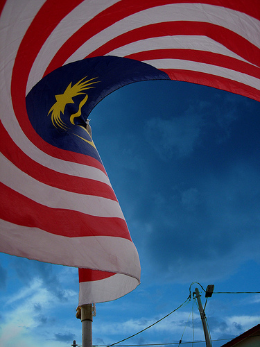 Sampai bila kita akan mampu melihat bendera negara ini...