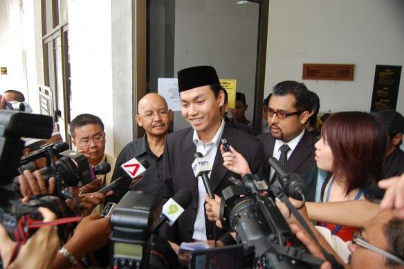 Kedatangan Saiful disambut hangat