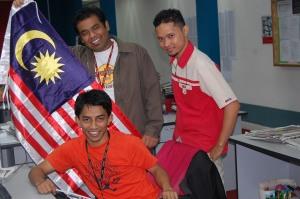Mereka yang bekerja/pix Nurul Riduan