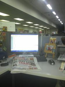 masih di office