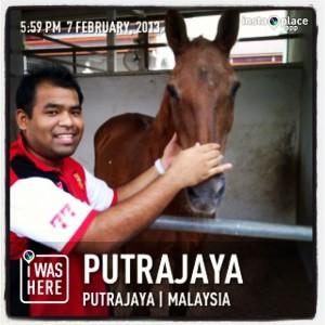 With Patron, kuda Tun Dr Mahathir Mohamad
