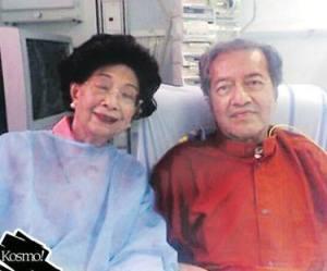 Tun Dr Mahathir Mohamad dan Tun Dr Siti Hasmah Mohd Ali