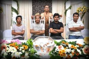 Kenduri kahwin Khusairy di Kg Kastam Klang.